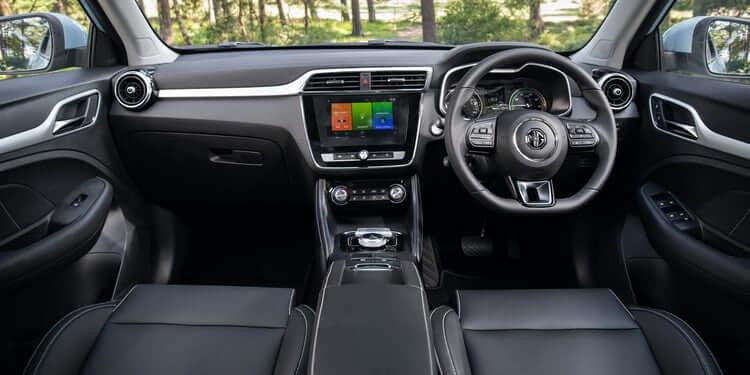 MG-ZS-EV-intérieur