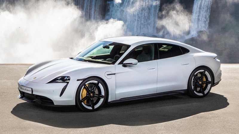 Porsche-Taycan-voitures-électriques