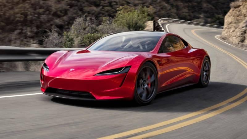 voiture électrique rapide tesla