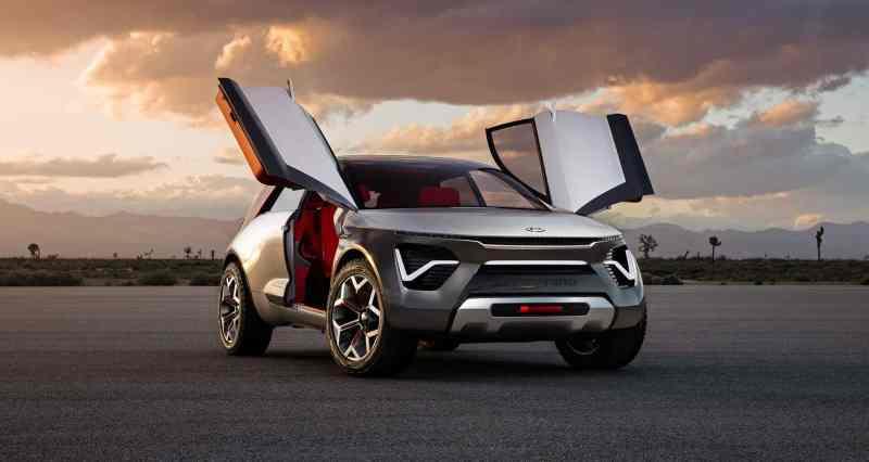 voitures électriques kia habaniro