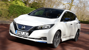 Electric Hybrid Test days Nissan Leaf