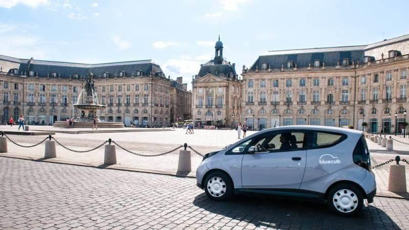 Voiture electrique Bordeaux