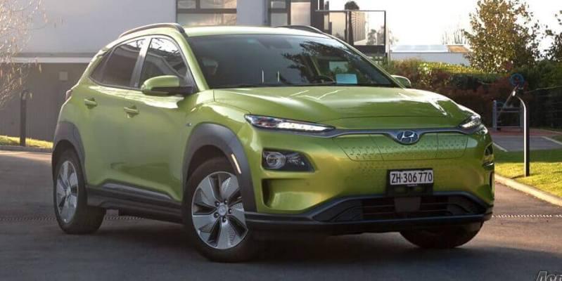 Hyundai Kona - voiture électrique autoroute