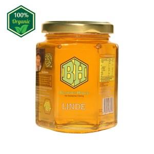 rauwe linde honing 250g
