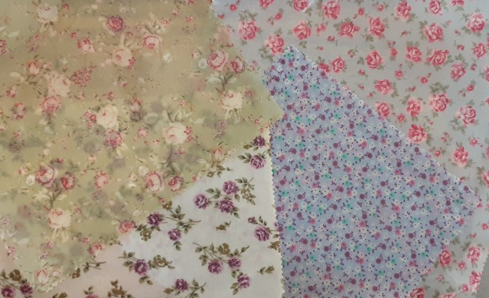 A collection of beeswax wraps in our floral designs