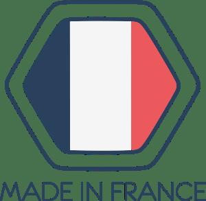 Conçu, produit et assemblé en France