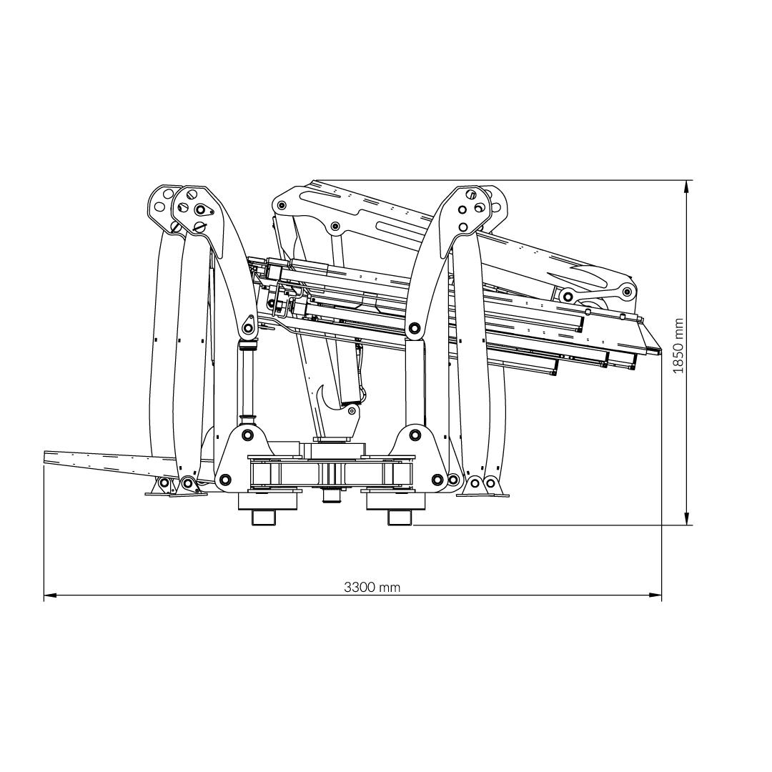 BEFARD Spider 3600 • Mini crane