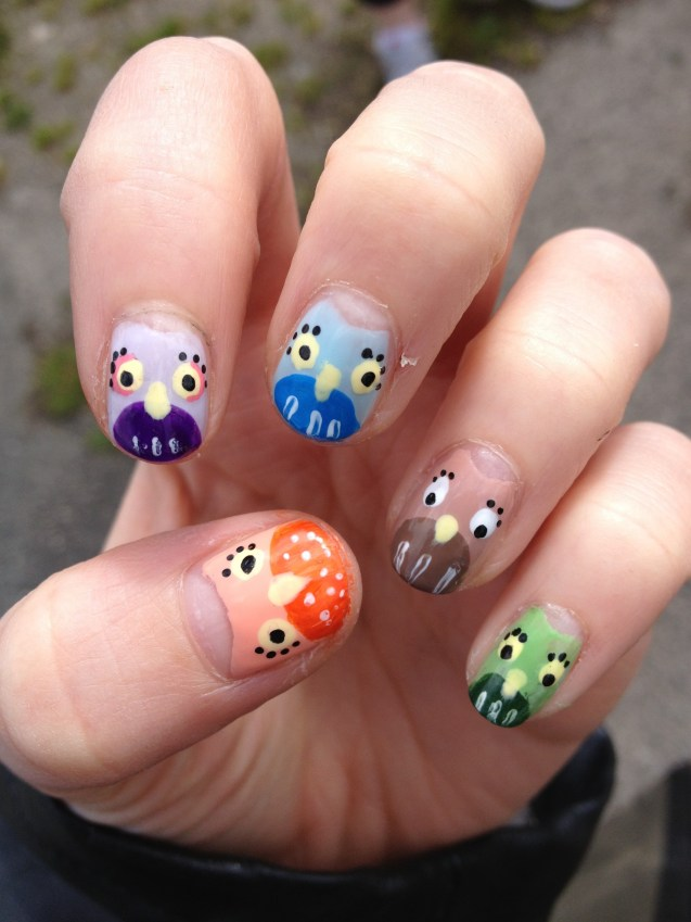 little owl nails beffums nail