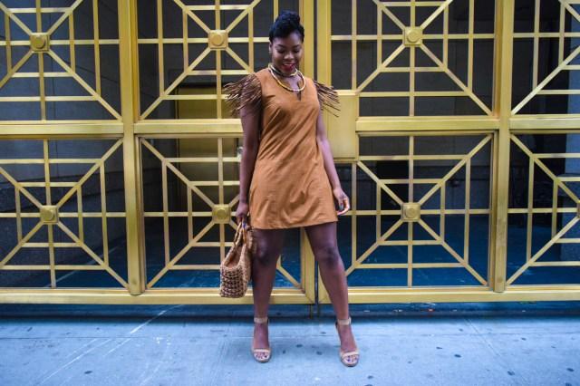 Befitting Style Oyinkan Wearing Brown In The Spring 22