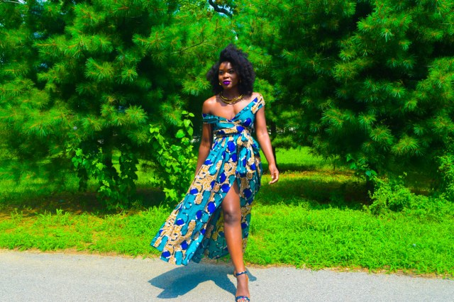 Befitting Style Oyinkan Wearing Ankara Dress Wedding Guest 18