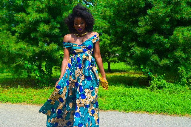 Befitting Style Oyinkan Wearing Ankara Dress Wedding Guest 20