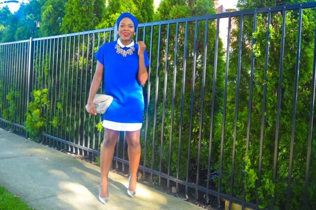 Befitting Style Oyinkan Wearing Turban + Shirtdress 1