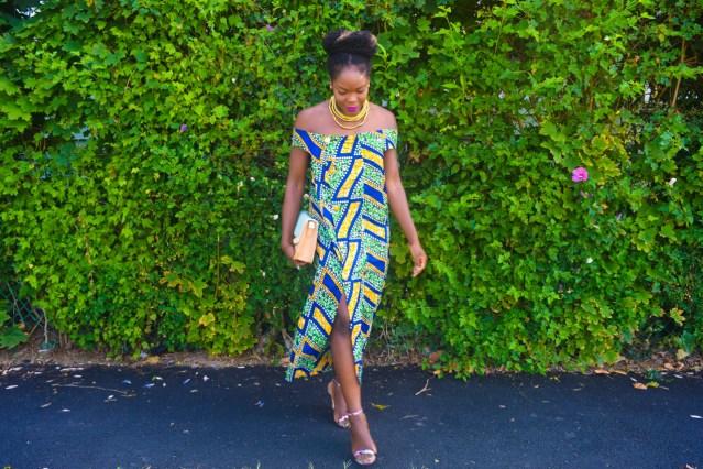 Self Made Button Down Ankara Dress | NYFW Day 1
