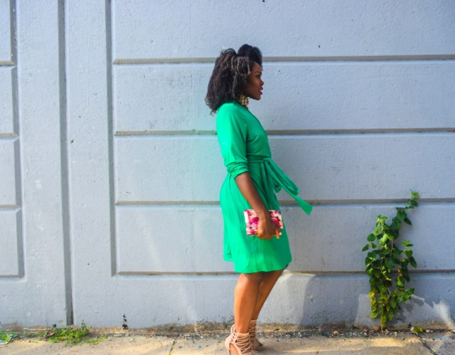befitting-style-oyinkan-wearing-green-wrap-dress-fall-7