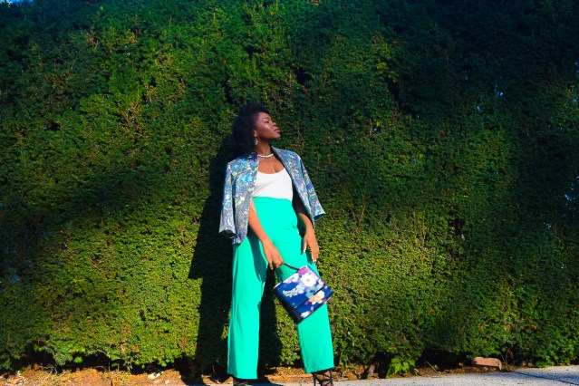 When Fall Feels Like Spring | Comfy Bright Green Pants