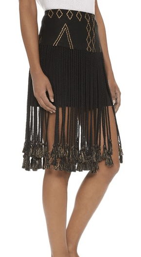 The Fringe Skirt That's Great For A Night Out | Befitting Picks