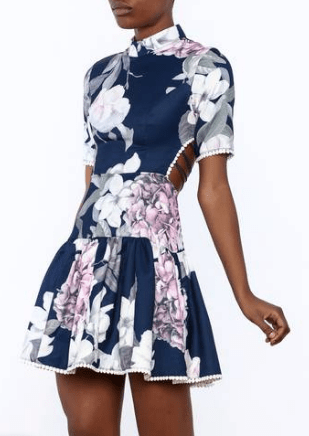 The Floral Lace Up Dress That is Perfect For Spring - Befitting Style 2