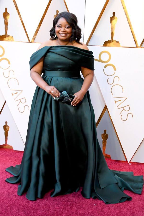 Oscars 2018 Best Dressed Octavia Spencer