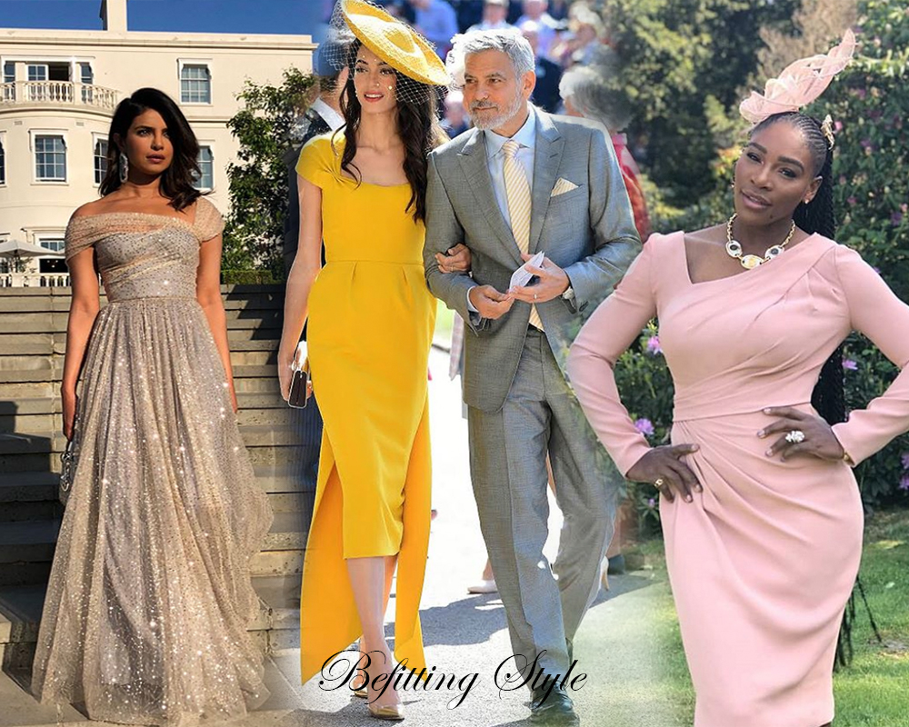 Best Dressed Guests at the Royal Wedding - Befitting Style
