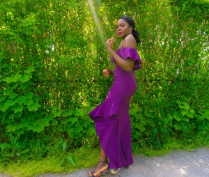 Befitting-Style-Oyinkan-Wearing-Purple-Evening-Gown-Wedding-Guest-6