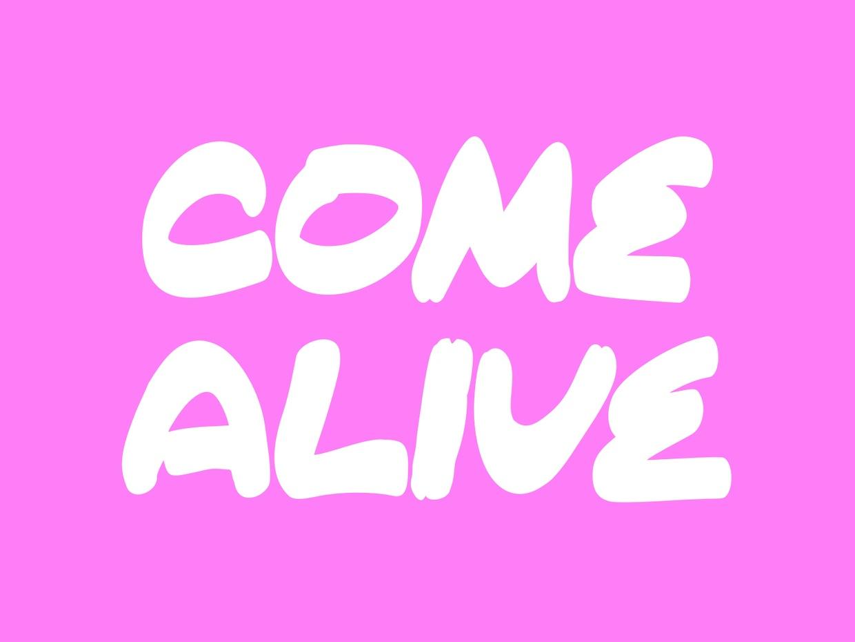 Come Alive Font Befontscom