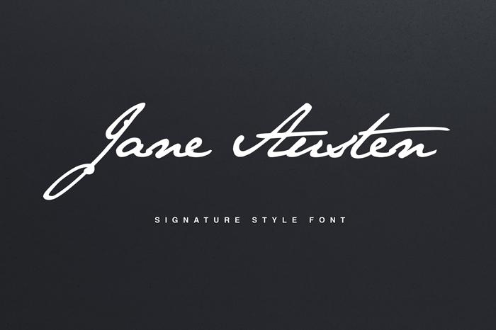 Download Jane Austen Signature Font - Befonts.com