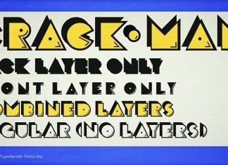 Crack Man Font Family