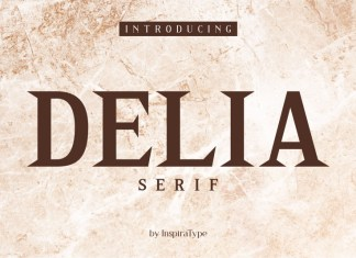 Delia - Regular and Bold