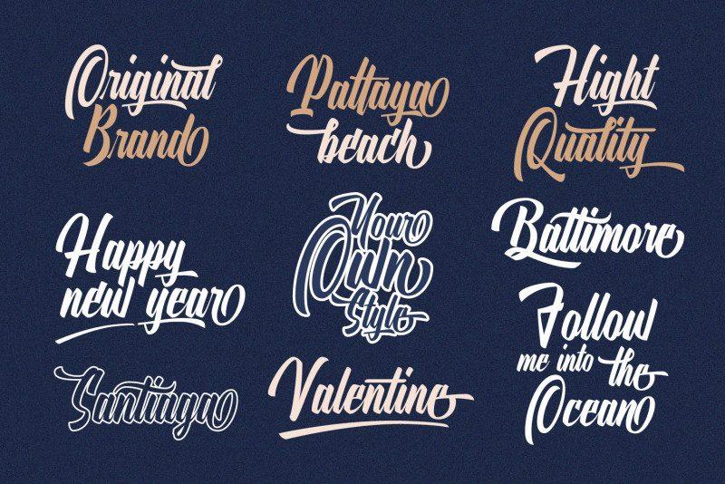 Download Onthel Calligraphy Font - Befonts.com