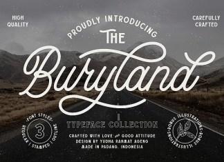 Buryland Script Font