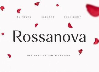 Rossanova Font Family