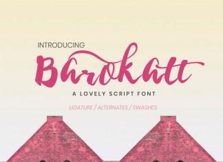 Barokatt Script Font