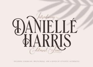 Danielle Harris Display Font