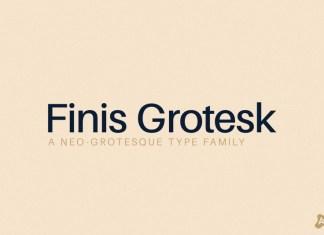 Finis Grotesk Font Family