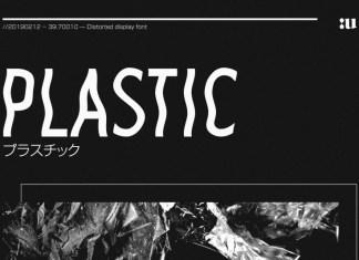 Plastic Sans Font