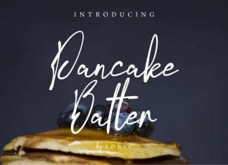 Pancake Batter Script Font