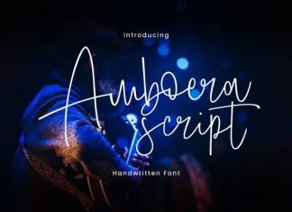 Amboera Handwritten Font