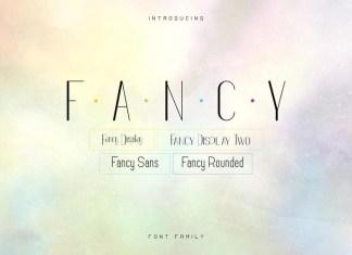 Fancy Font Family