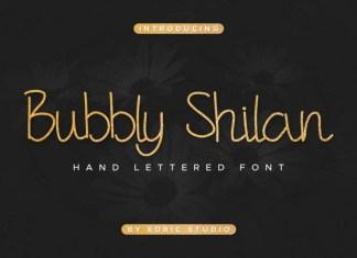 Bubbly Shilan Script Font