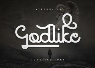 Godlike Font + Logo Templates