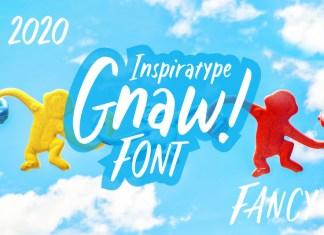 Gnaw - Kid's Fancy Font