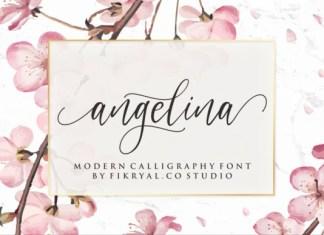 Angelina - Gorgeous Script Font