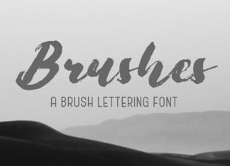 Brushes Brush Font