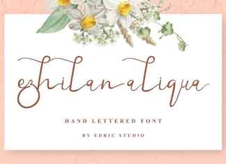 Ezhilan Aliqua Calligraphy Font