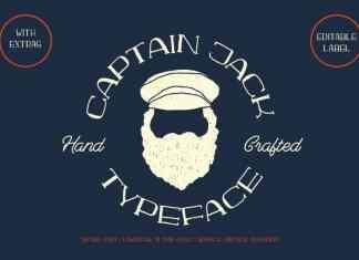 Captain Jack Serif Font