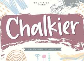 Chalkier fun & quirky handwritten Font
