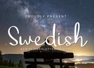 Swedish Script Font