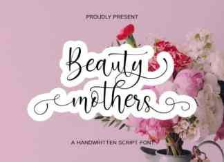 Beauty Mothers Script Font
