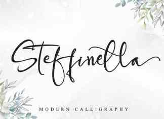 Steffinella Script Font