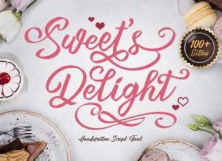 Sweet's Delight Script Font